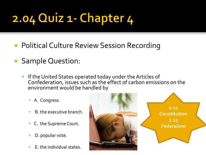 chapter 4 quiz Chapter 4 reading quiz after reading the following questions carefully, please choose the best response this activity contains 10 questions.