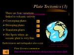plate tectonics 3