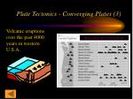 plate tectonics converging plates 3