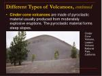 different types of volcanoes continued26