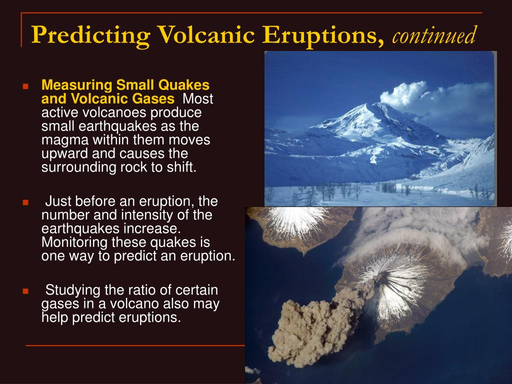 Measuring Small Quakes and Volcanic Gases