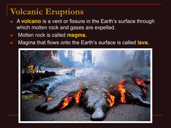 Volcanic eruptions3