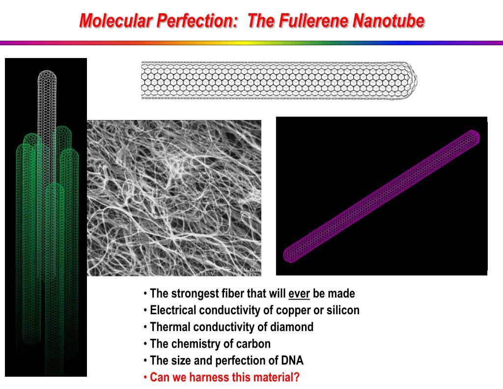 Molecular Perfection:  The Fullerene Nanotube