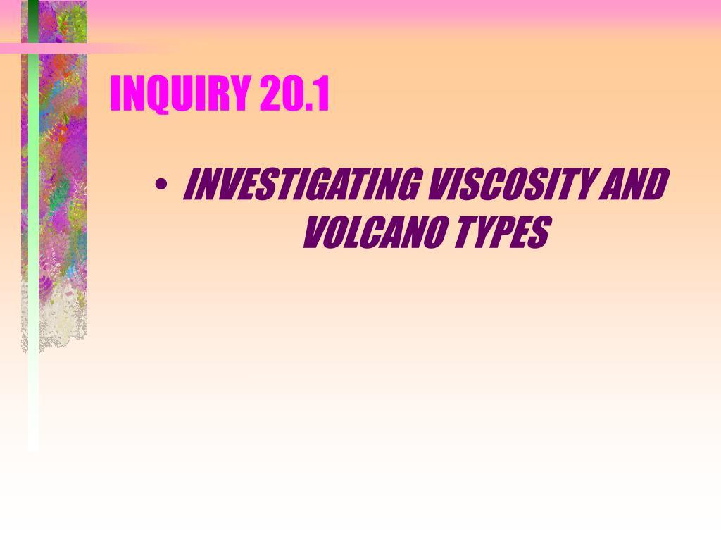 INQUIRY 20.1