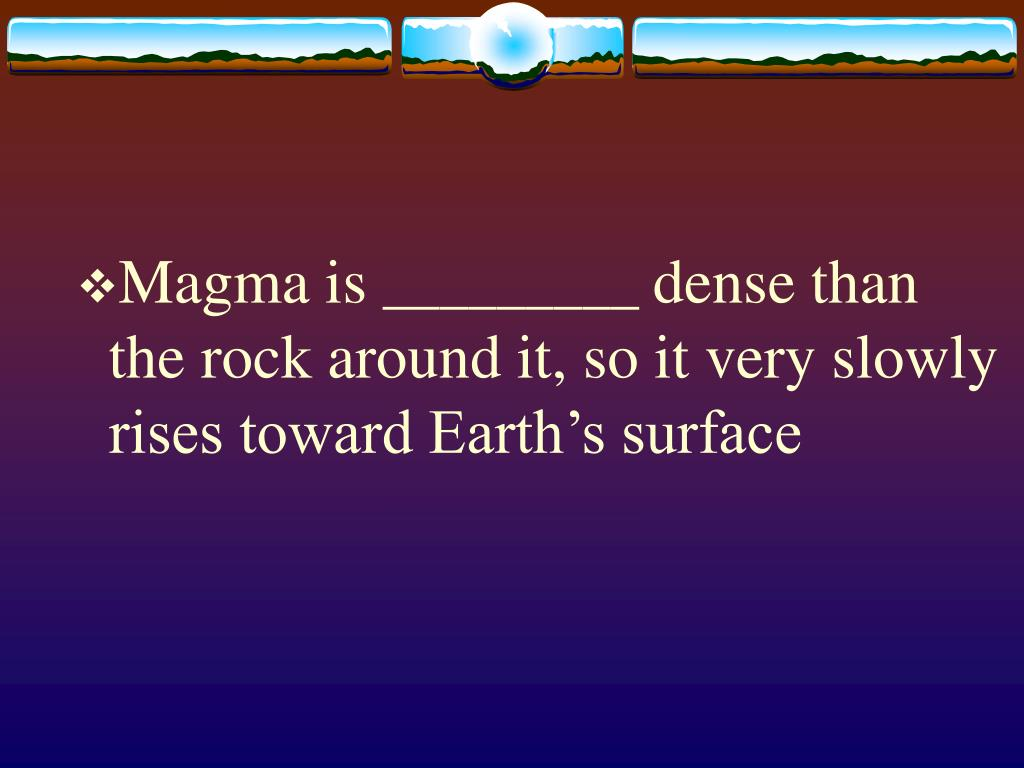 Magma is