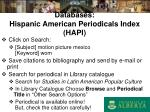 databases hispanic american periodicals index hapi
