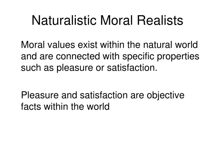are moral values objective