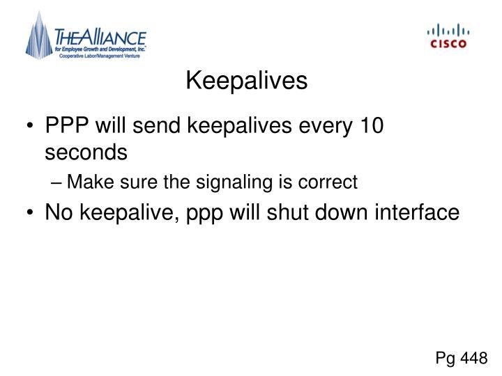 Keepalives