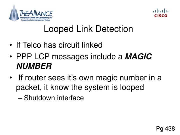 Looped Link Detection