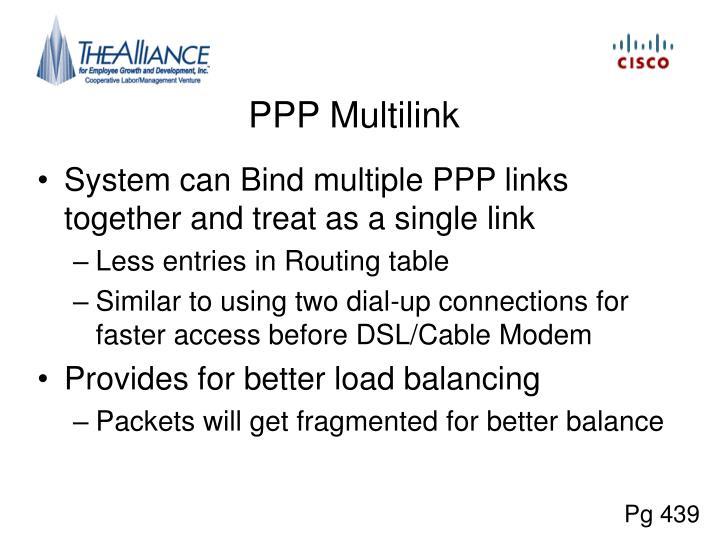 PPP Multilink