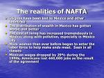 the realities of nafta