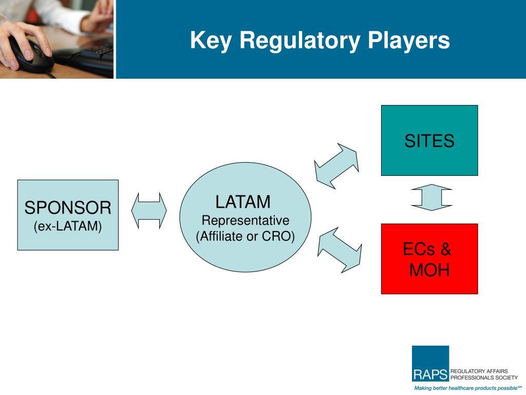 Key Regulatory Players