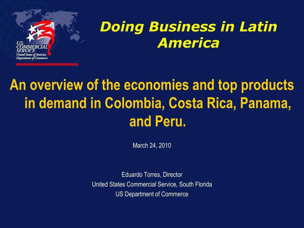 doing business in latin america l.