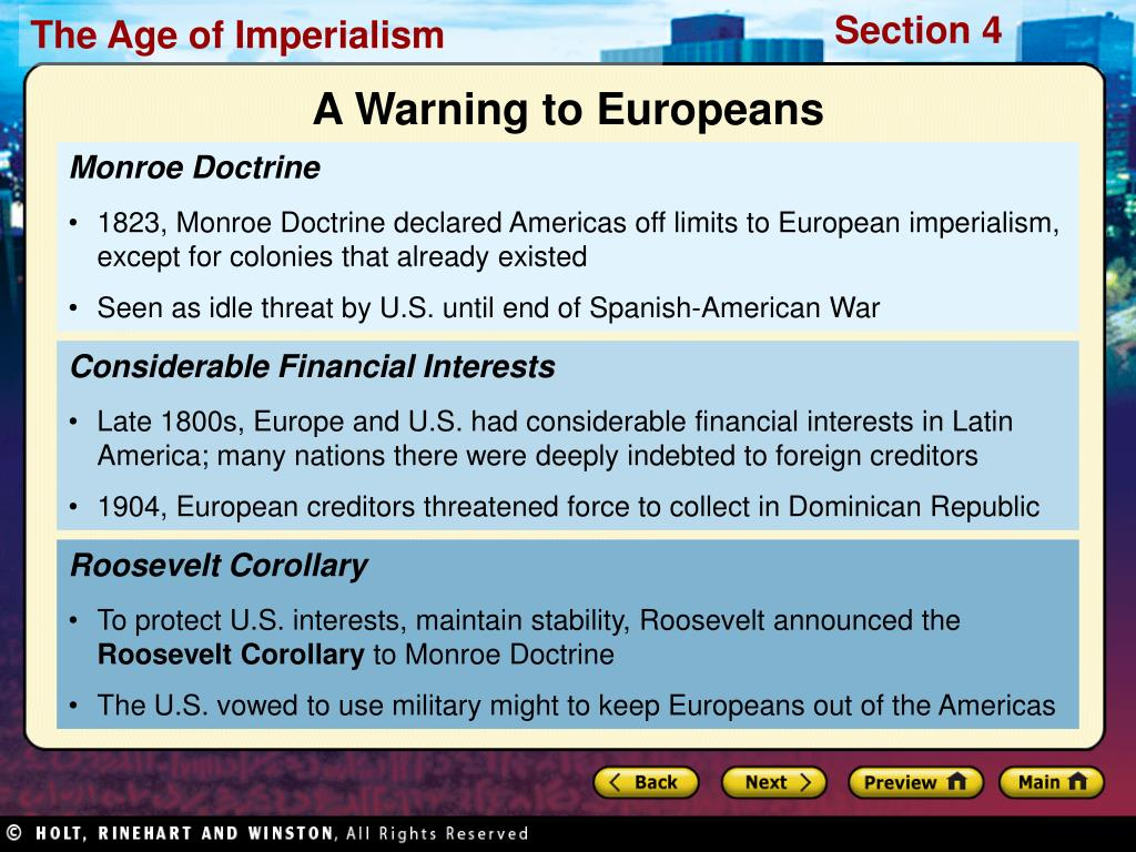 A Warning to Europeans