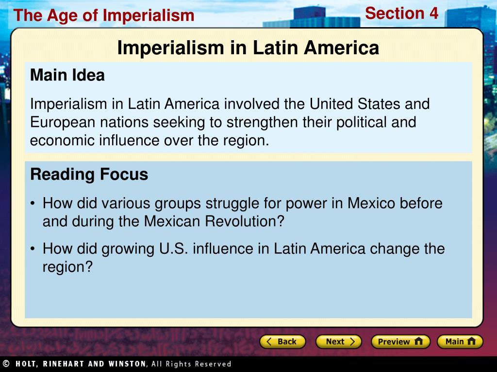 Imperialism in Latin America