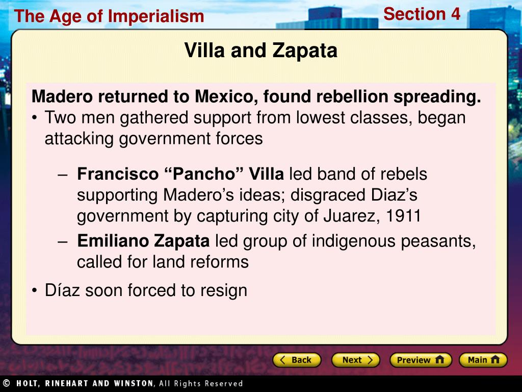 Madero returned to Mexico, found rebellion spreading.