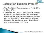 correlation example problem11