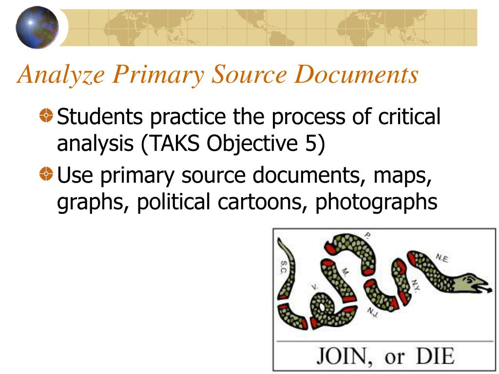Analyze Primary Source Documents