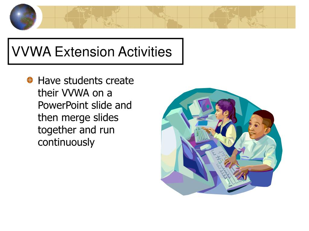 VVWA Extension Activities