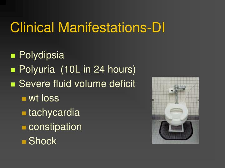 Clinical Manifestations-DI