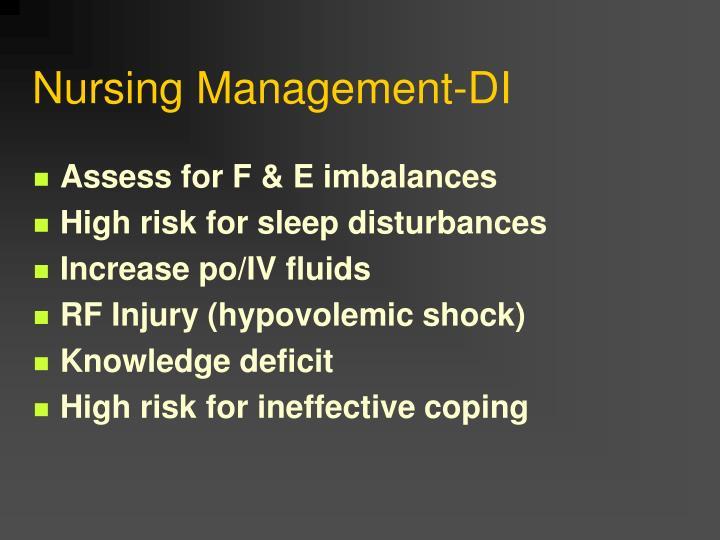 Nursing Management-DI