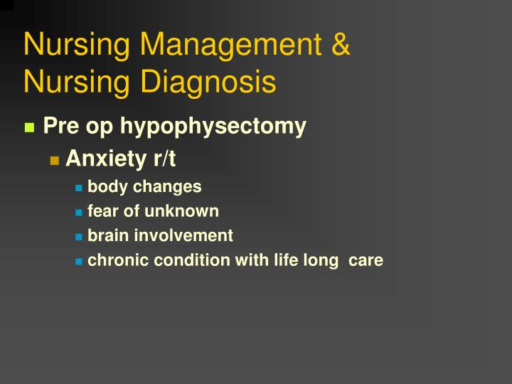 Nursing Management &