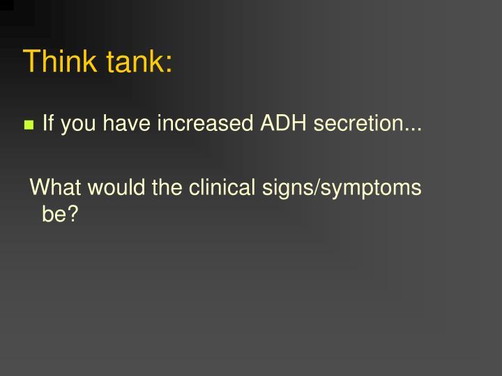Think tank: