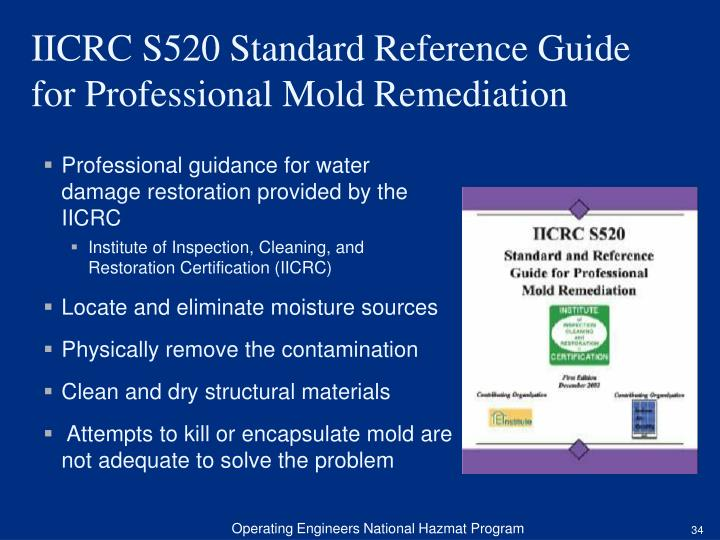 Professional guidance for water damage restoration provided by the IICRC