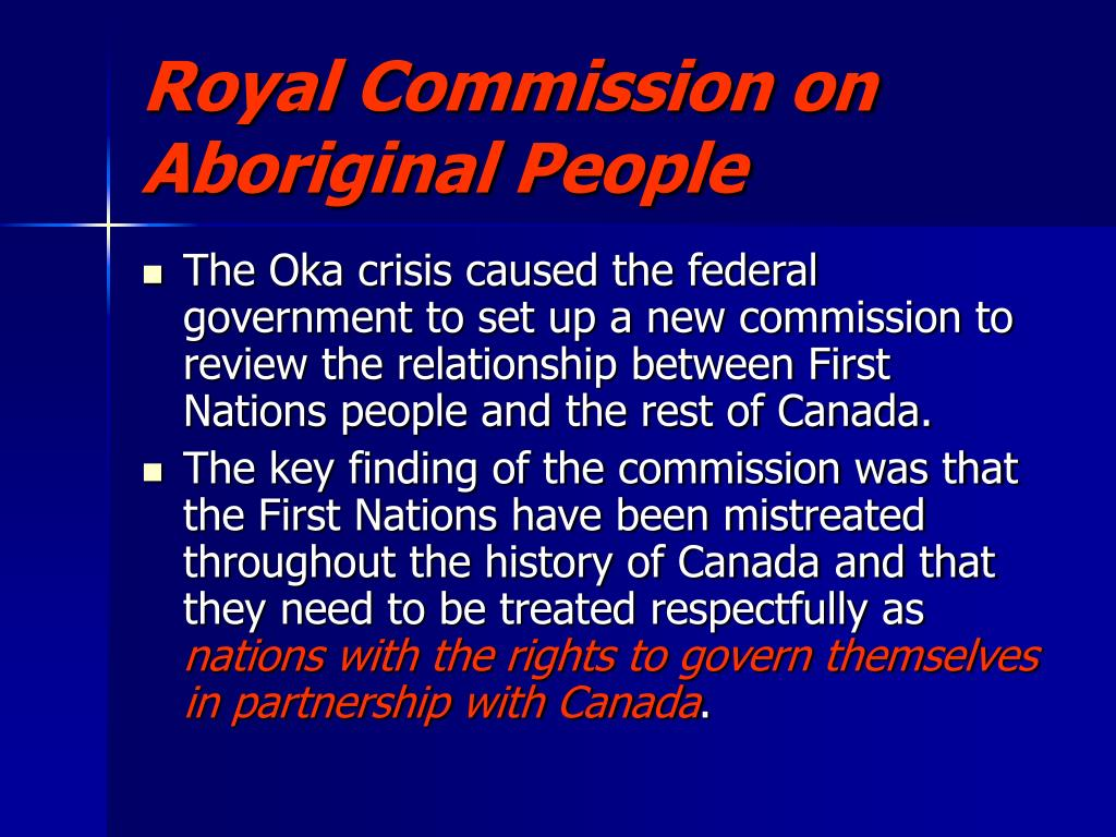 Royal Commission on Aboriginal People