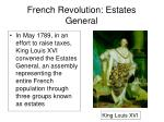 french revolution estates general
