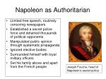 napoleon as authoritarian