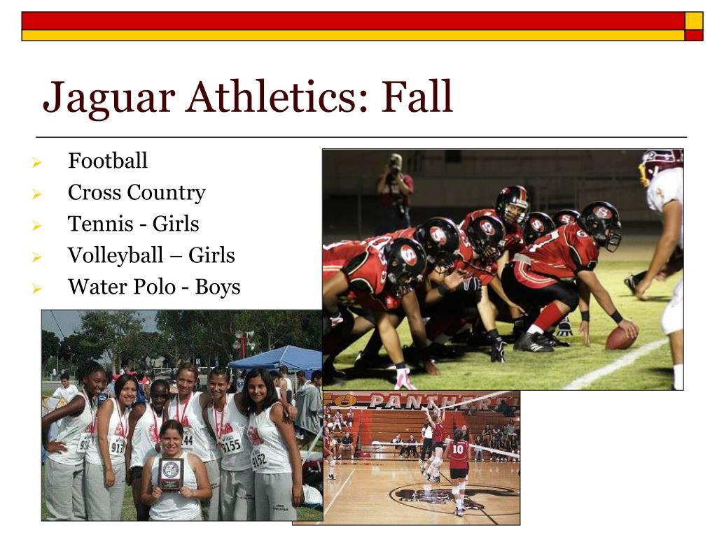 Jaguar Athletics: Fall