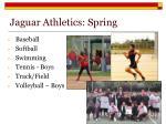 jaguar athletics spring