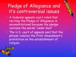 pledge of allegiance and it s controversial issues
