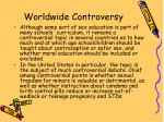 worldwide controversy