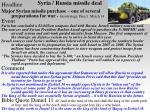 syria russia missile deal