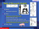 suite of research models