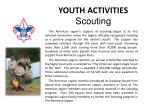 youth activities scouting