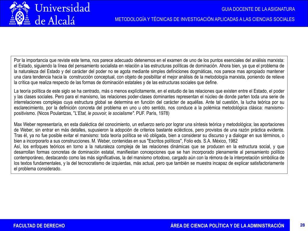 Ppt Facultad De Derecho área De Ciencia Política Y De La