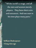 william shakespeare a long time ago