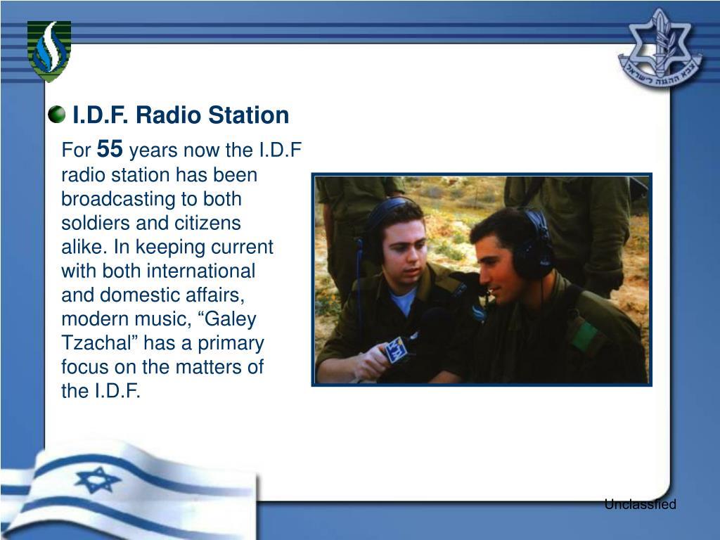 I.D.F. Radio Station