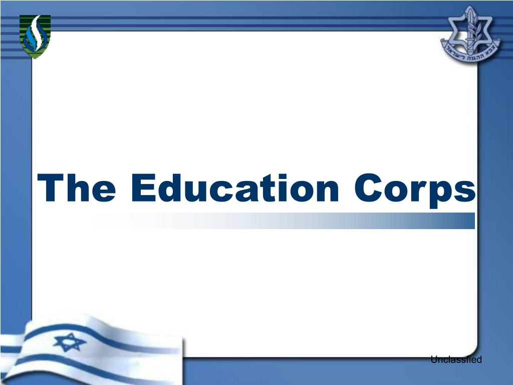 the education corps l.