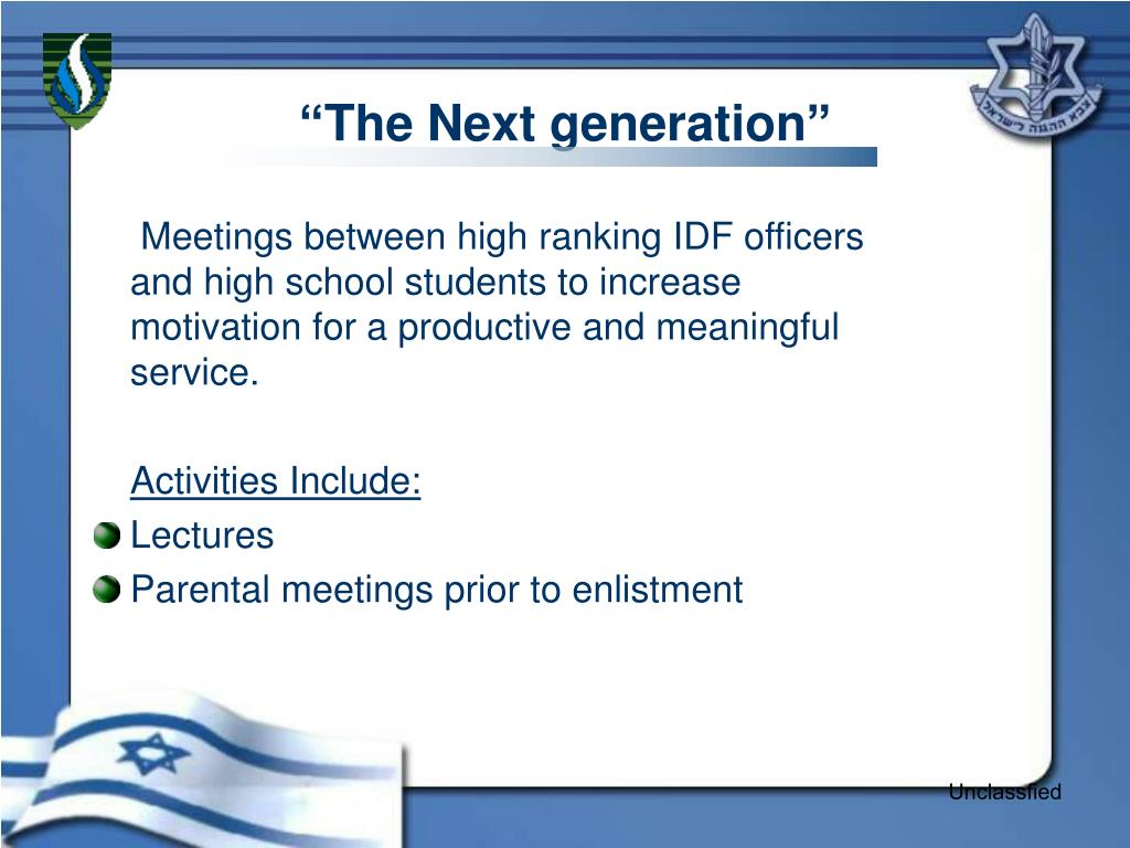 """The Next generation"""