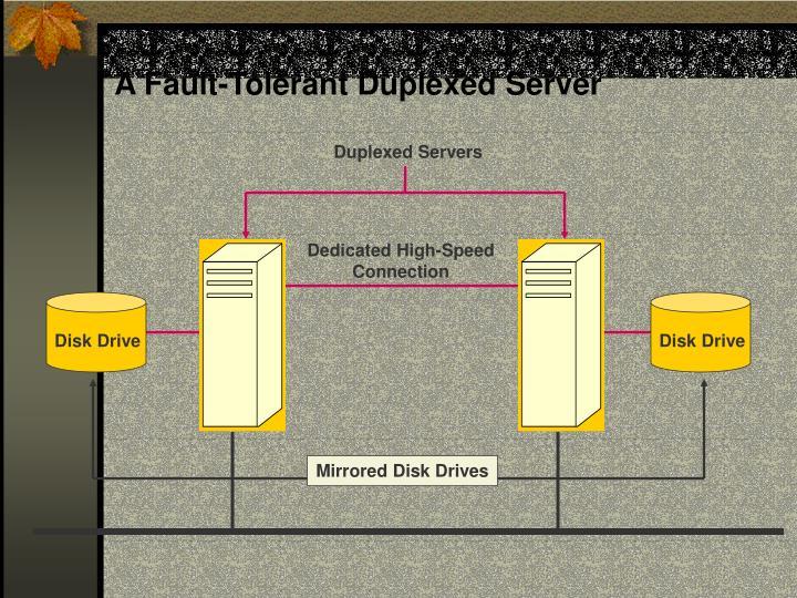 A Fault-Tolerant Duplexed Server