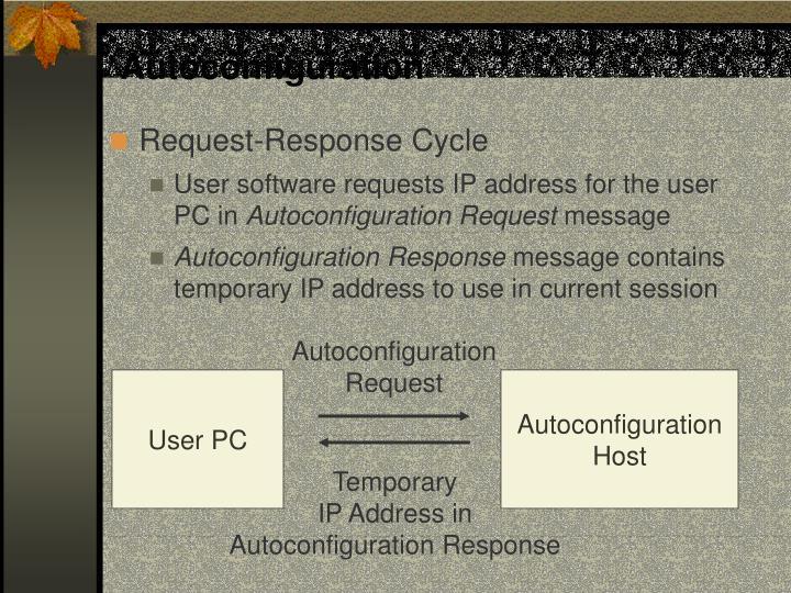 Autoconfiguration