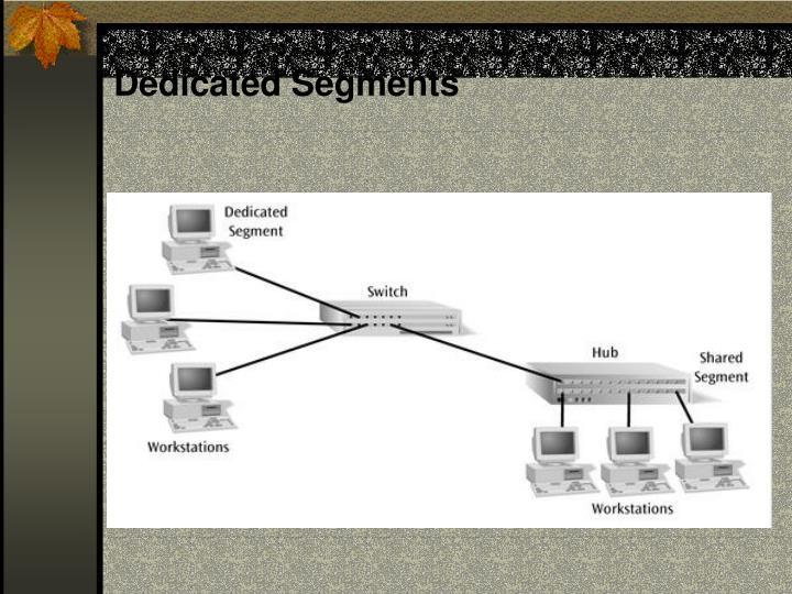 Dedicated Segments