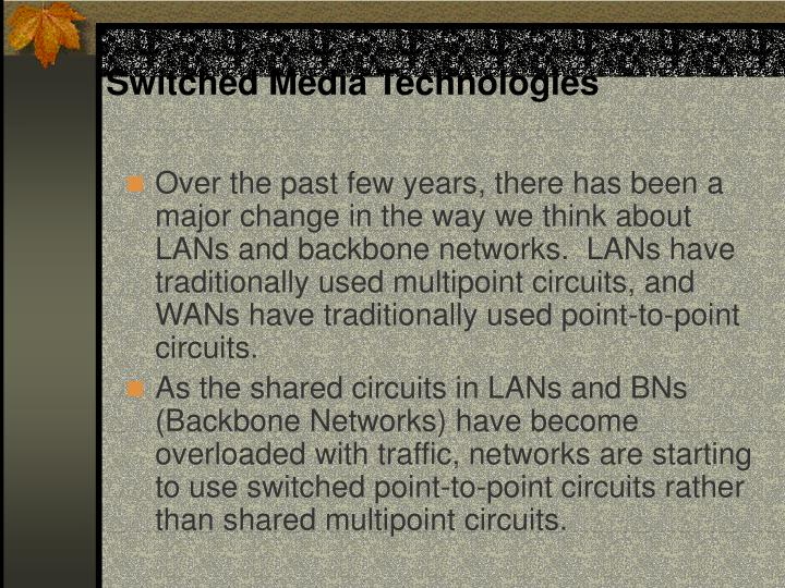 Switched Media Technologies