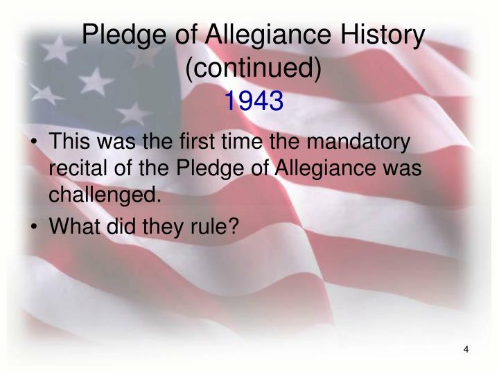 the words under god should be removed from The words of the pledge of allegiance are familiar to almost every american yet few realize that its wording differs from its original version, penned in 1892 congress added under god in 1954, at a time when the united states wanted to distinguish itself from godless communist countries.