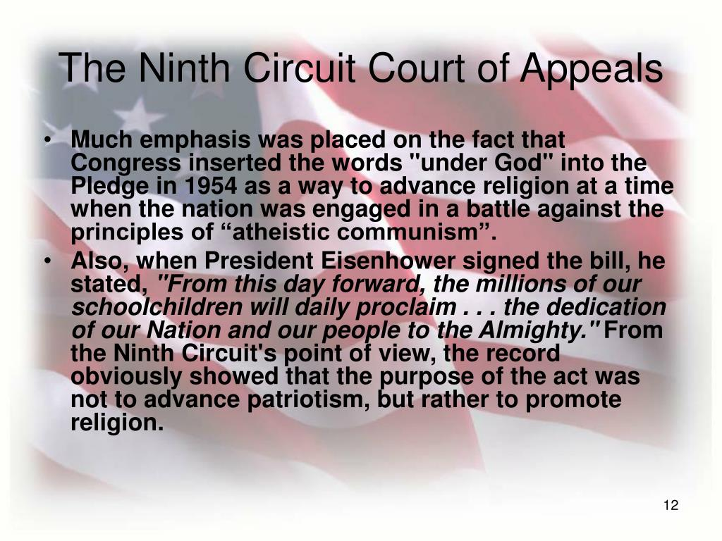 The Ninth Circuit Court of Appeals