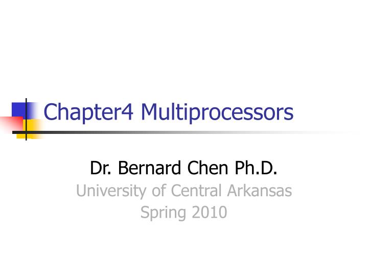 chapter4 multiprocessors n.